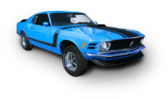 1970 Ford Mustang Boss 302- Car Restoration in Maryland